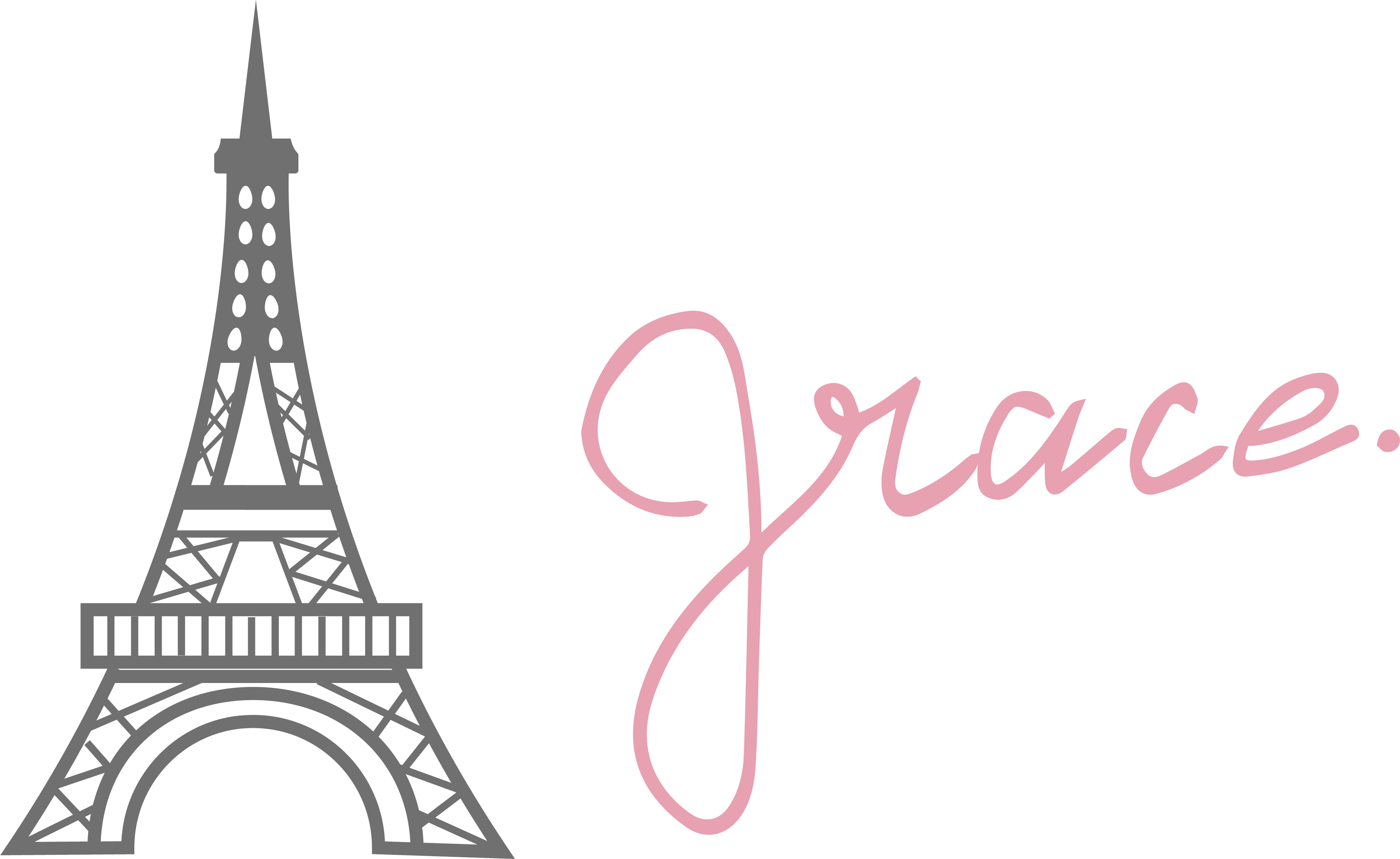 Ruffled By Grace Logo